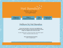 Het Sterrebos | website design